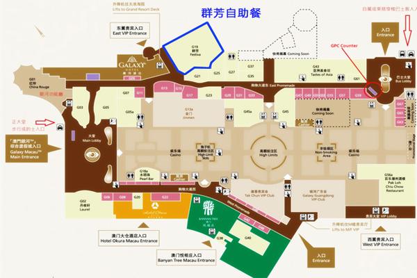 园林式酒店平面设计图展示