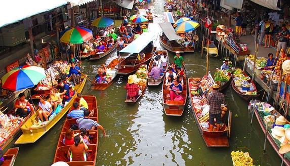 曼谷水上市場一日遊