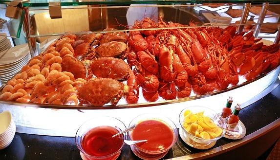 曼谷文華東方酒店Sala Rim Naam自助午餐