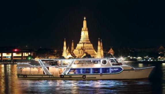泰國曼谷香格裏拉HORIZON遊船自助晚餐