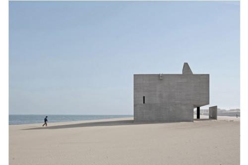 河北秦皇岛世界上最孤独的图书馆